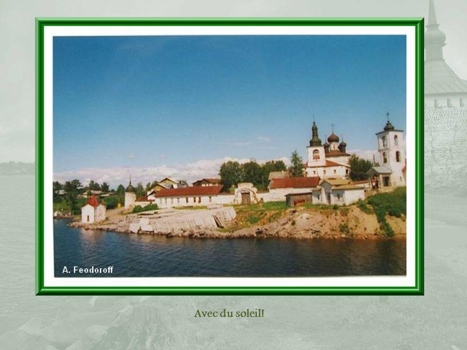 Arrivée à Goritsy, à 7 km de Kirillov où se trouve le monastère de Saint- Cyrille-du-Lac-Blanc.