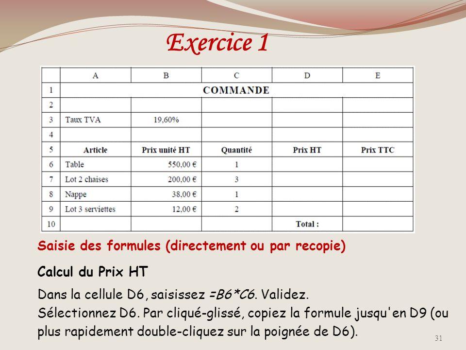 Références relatives, références absolus & références combinées Une référence de cellule, telle que A1, qui permet à Excel didentifier une cellule par