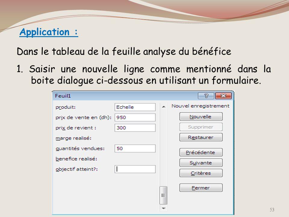 Pour filtrer les données en fonction de deux valeurs ou pour appliquer des opérateurs de comparaison : Cliquer sur la flèche située dans la colonne, p