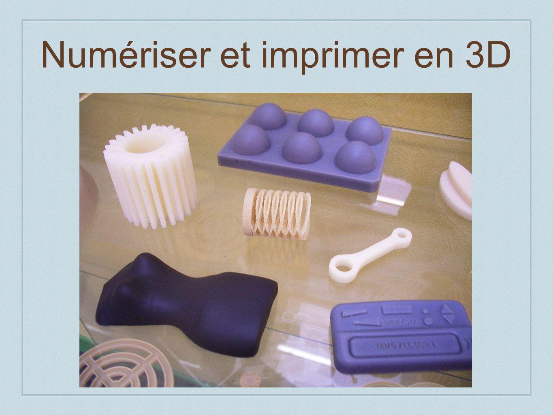 Numériser et imprimer en 3D
