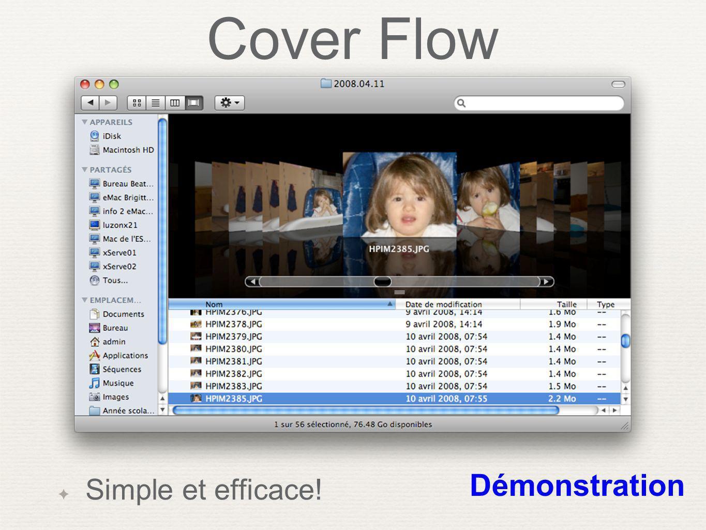 Cover Flow Simple et efficace! Démonstration