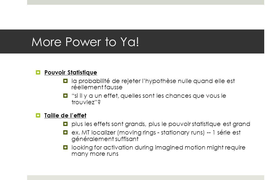 More Power to Ya.