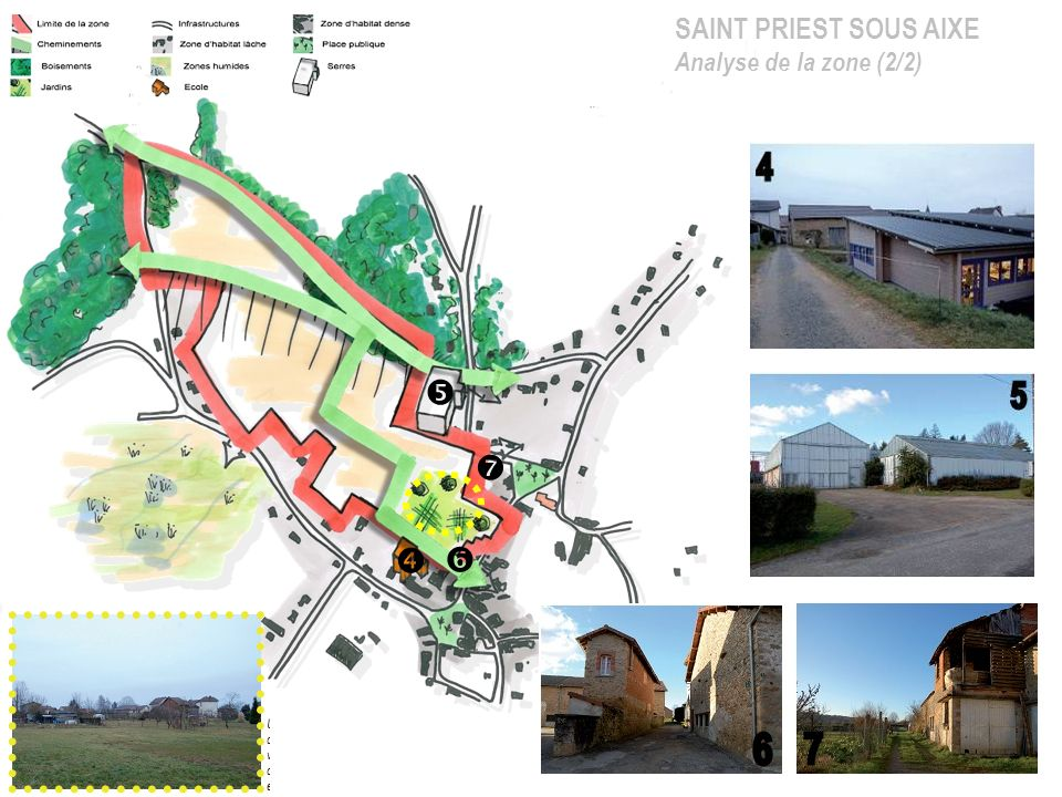 SAINT PRIEST SOUS AIXE Analyse de la zone (2/2)