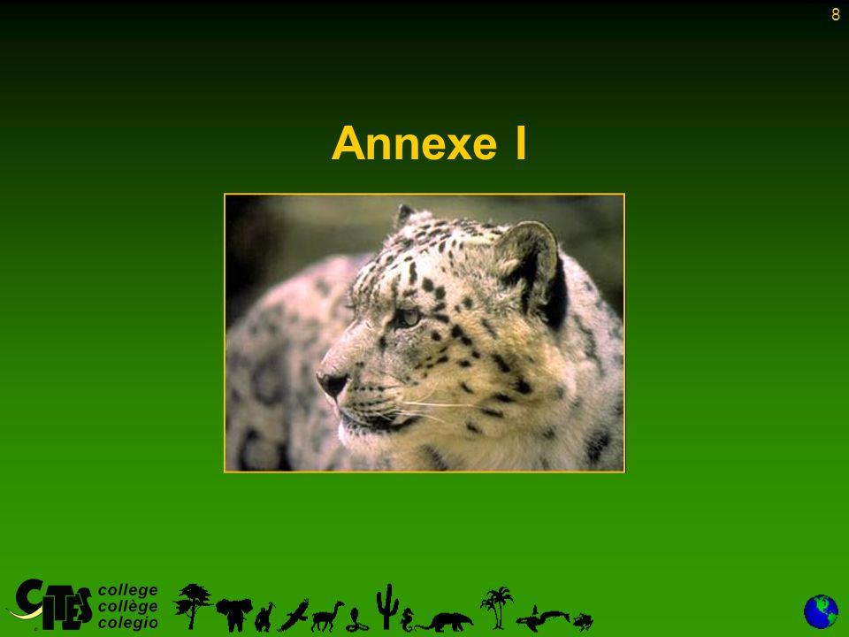 8 Annexe I