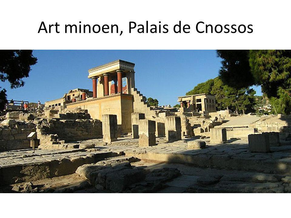 Art minoen, Palais de Cnossos