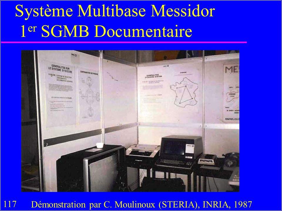 117 Système Multibase Messidor 1 er SGMB Documentaire Démonstration par C.