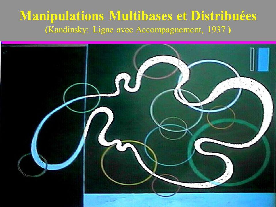 2 Manipulations Multibases et Distribuées (Kandinsky: Ligne avec Accompagnement, 1937 )