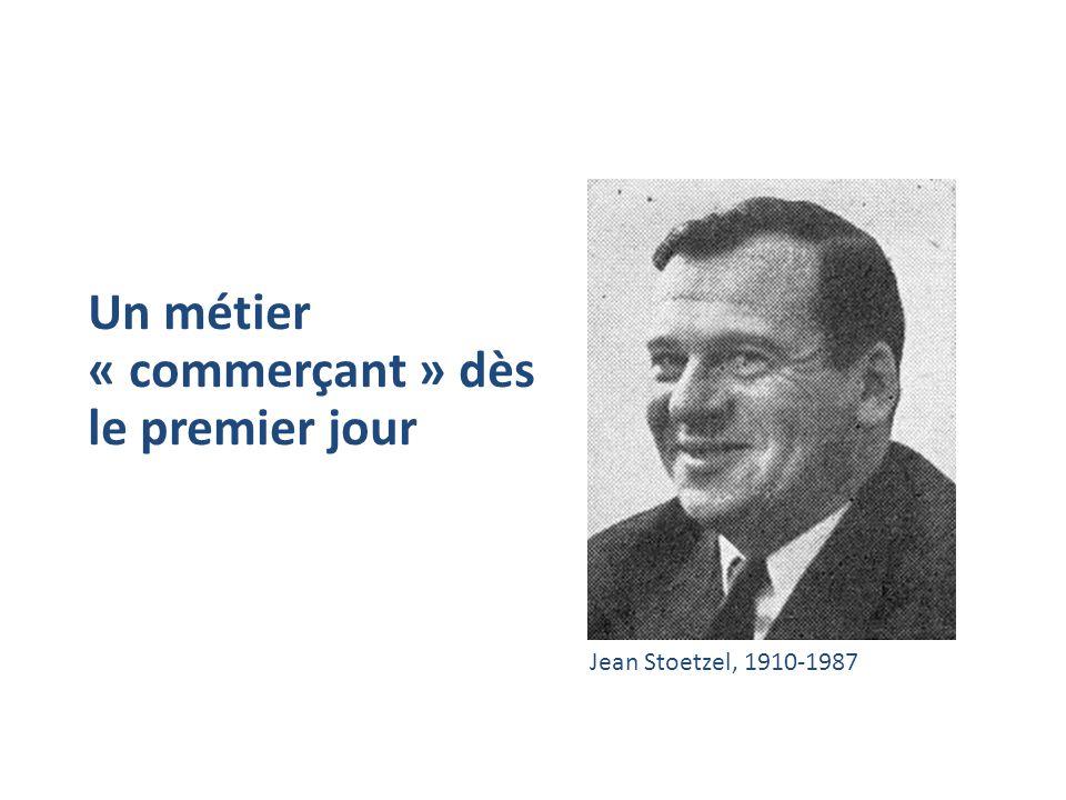 Un métier « commerçant » dès le premier jour Jean Stoetzel, 1910-1987