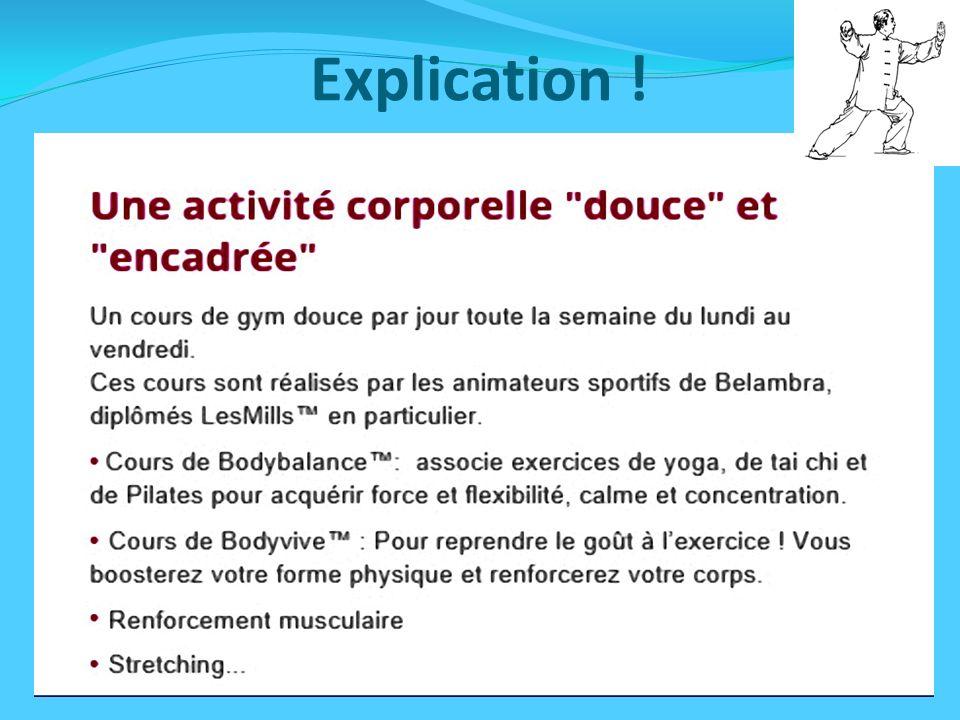 Introduction: Les gyms douces nouvelle tendance.Les gyms douces nouvelle tendance.