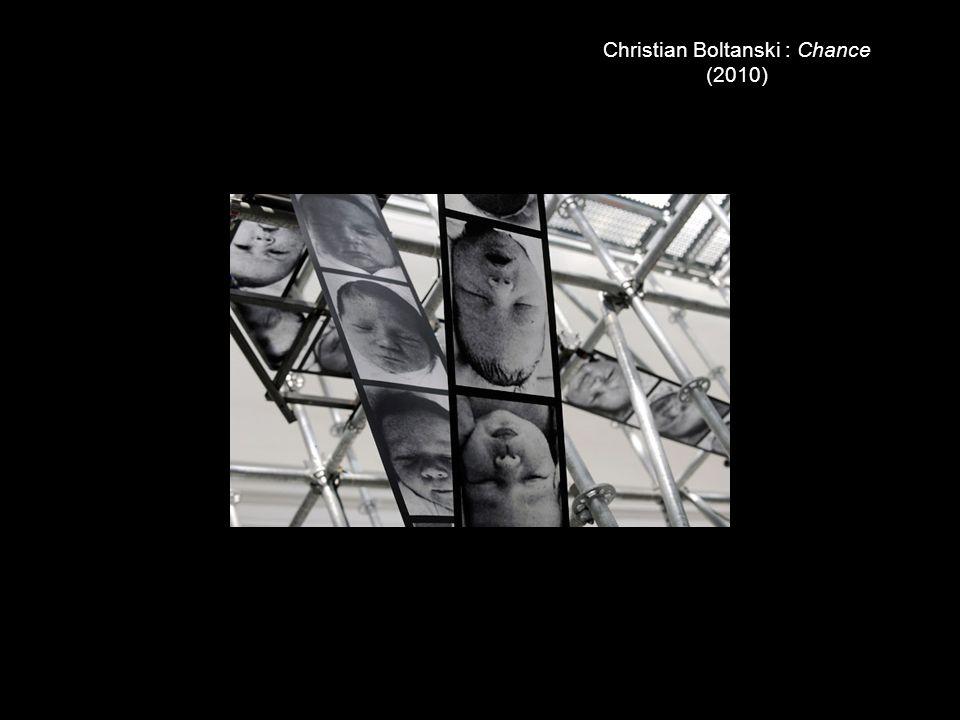 Christian Boltanski : Chance (2010)
