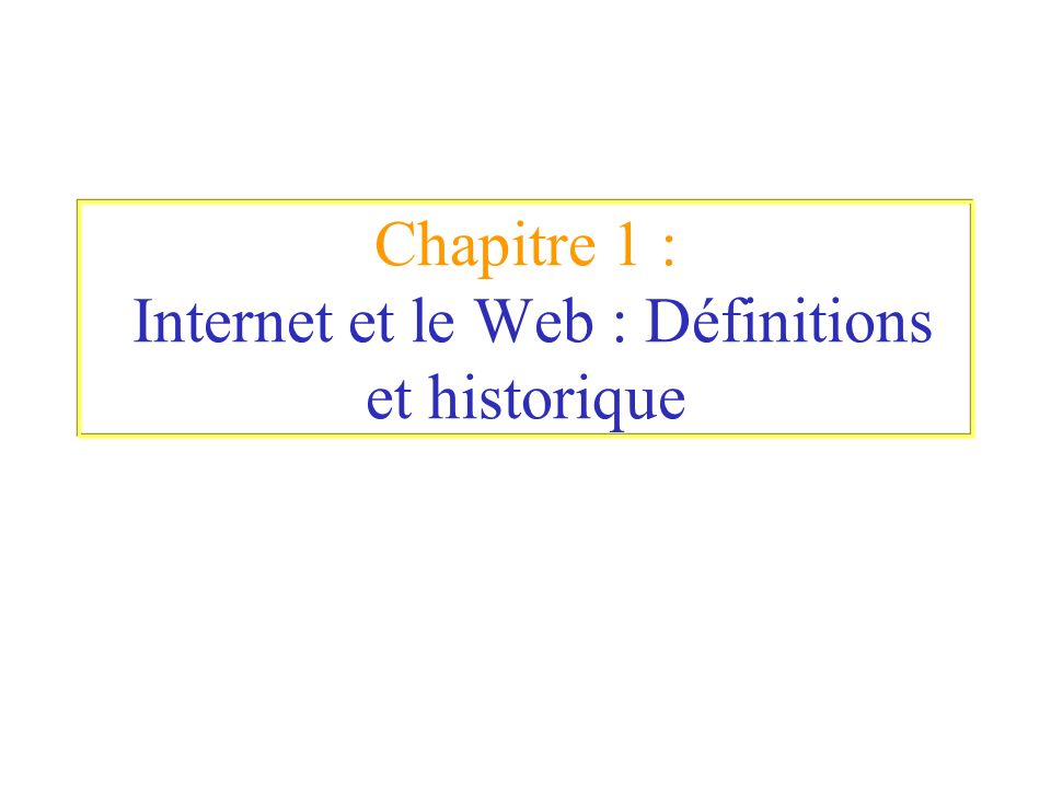 Introduction au langage HTML Chaque élément doit être nommé, pour cela on utilise l attribut NAME.