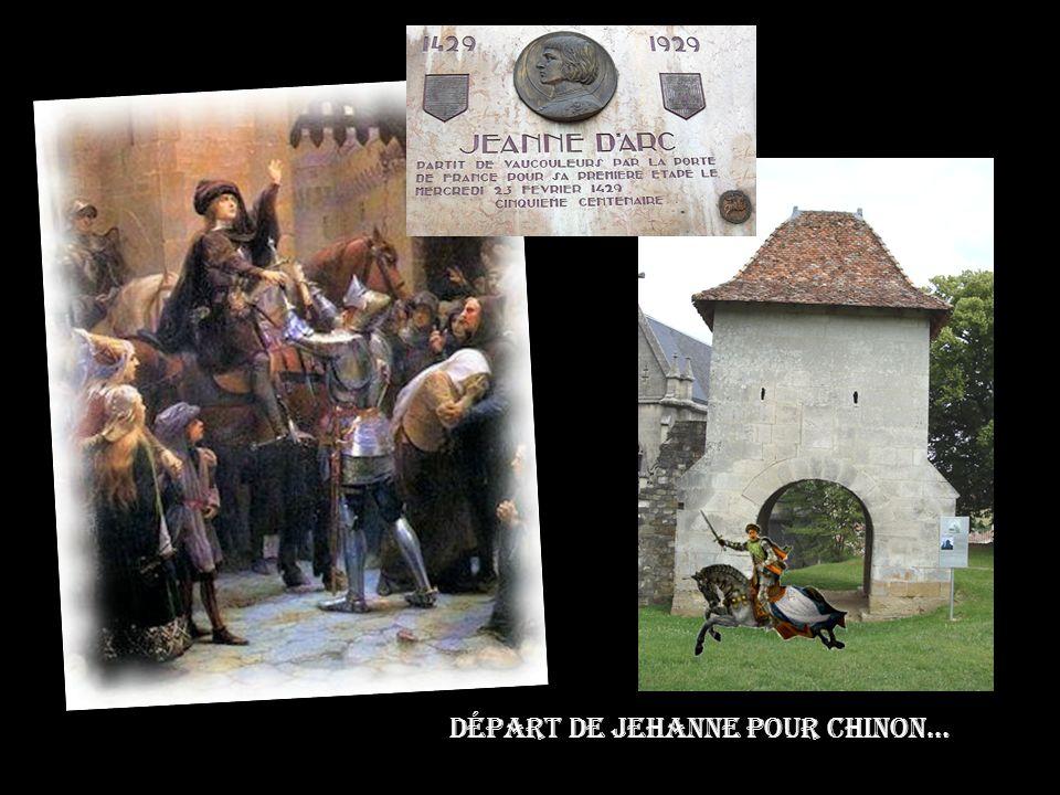 La chapelle Castrale de Vaucouleurs abrite dans sa crypte la statue de Notre Dame des Voûtes devant laquelle Jehanne aimait se recueillir lors de ses