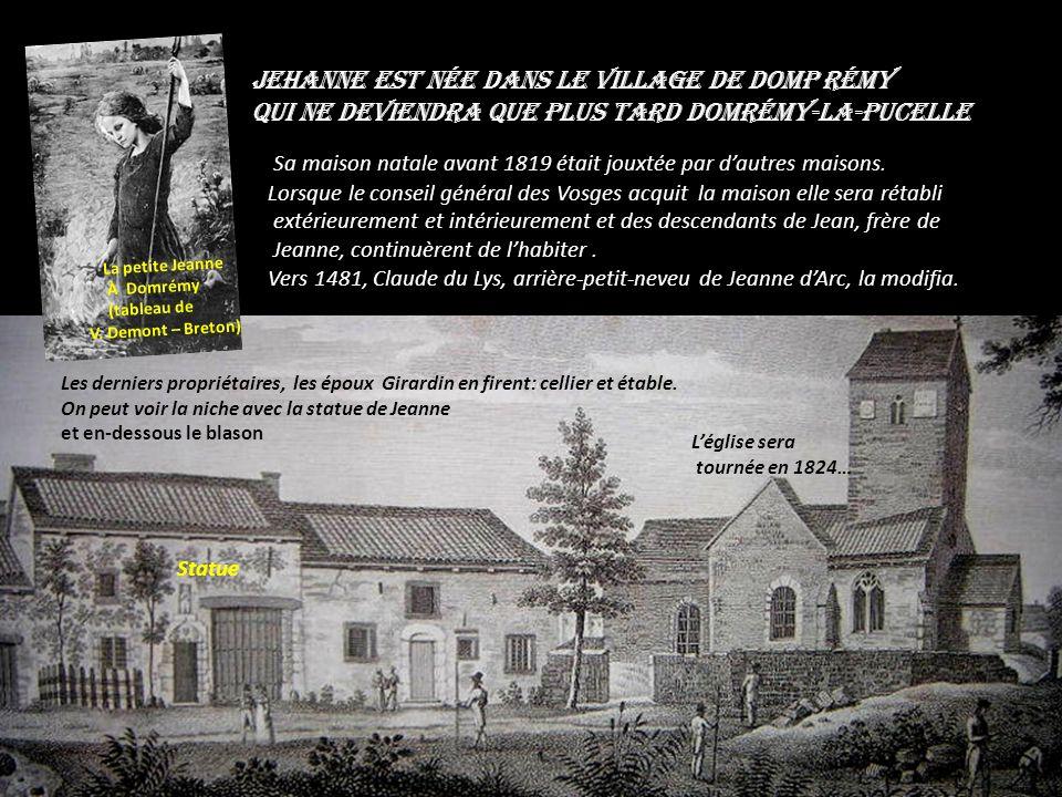 Jehanne La Pucelle De Lorraine Sainte de la Patrie Manuel