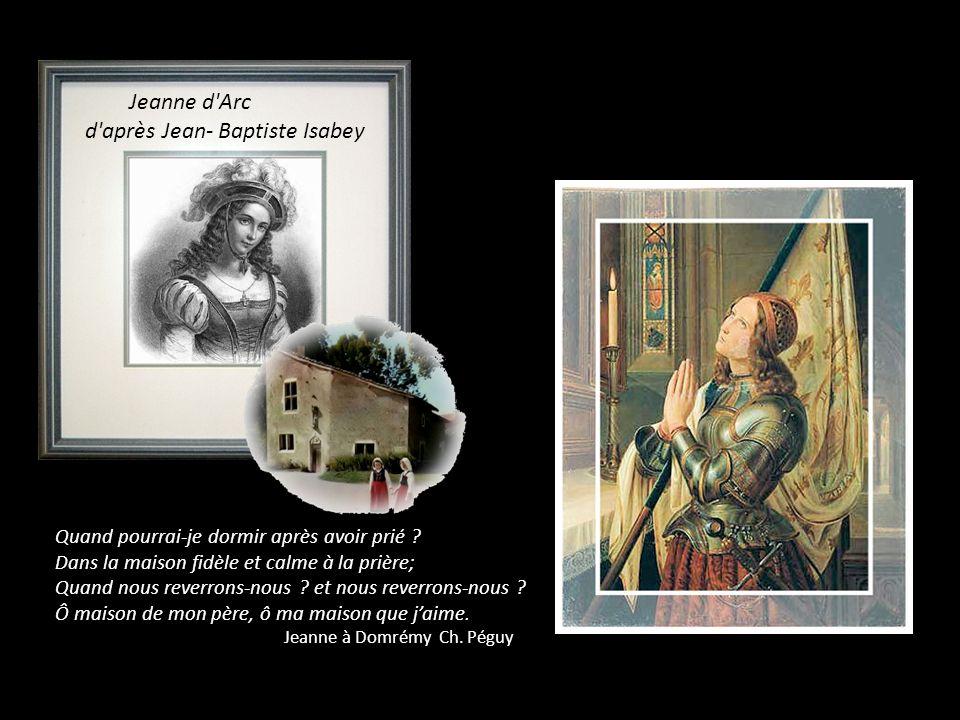 Le seul croquis de Jeanne d Arc exécuté de son vivant fut celui-ci réalisé par le greffier Clément de Fauquembergue.