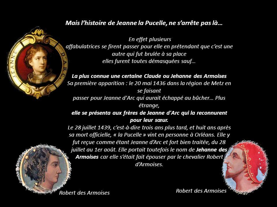 16 mai 1920 Benoît XV canonise Jeanne d Arc Sainte Jeanne d Arc sera proclamée le 2 Mars 1922 la seconde Sainte Patronne de la France par Pie XI Bannière de canonisation de Jeanne D arc