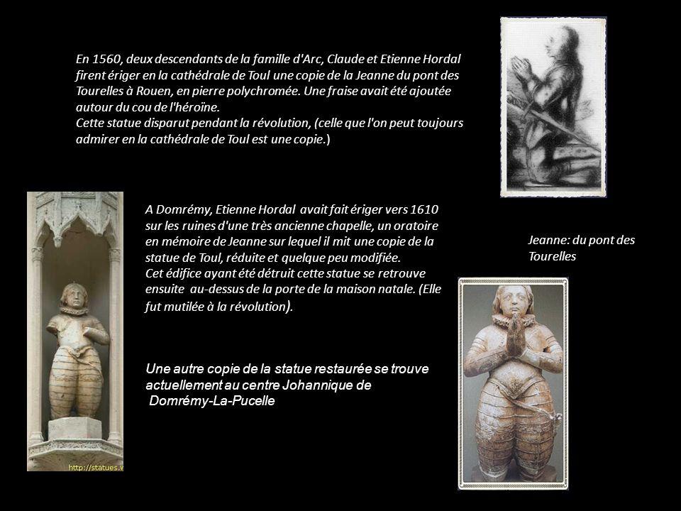 Cette pièce serait celle de Jeanne et de sa sœur Catherine Et celle-ci celle de ses frères: Jacquelot, Pierre et Jean
