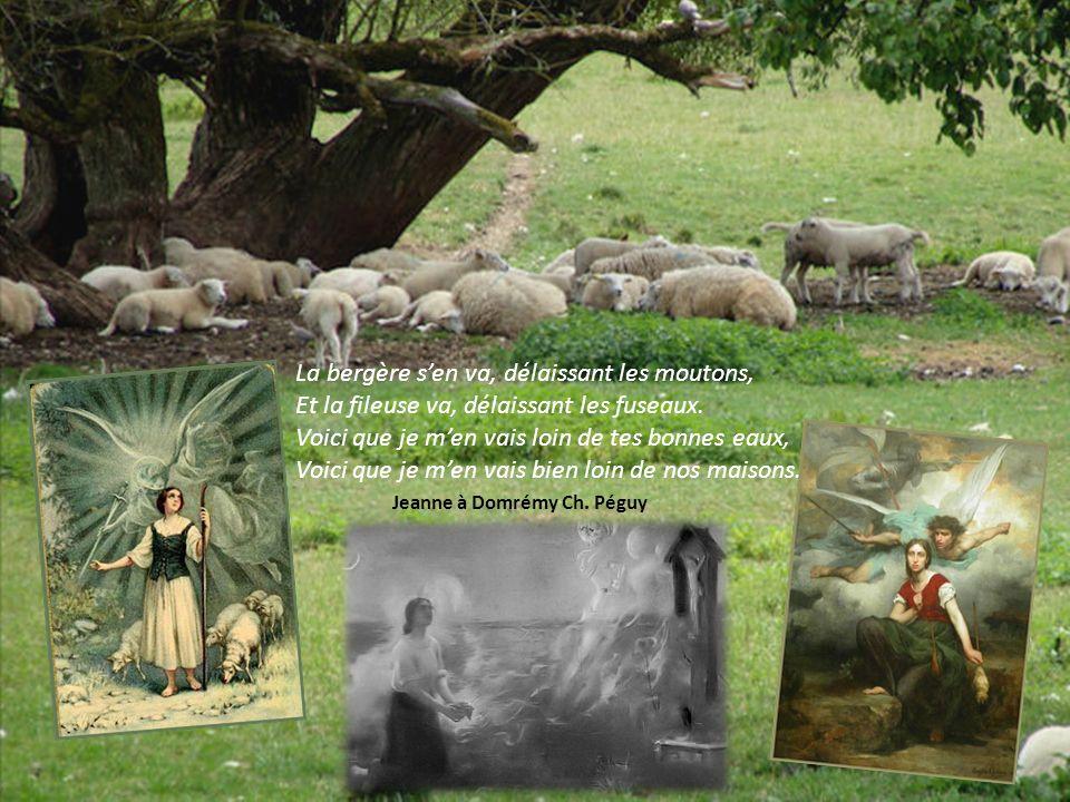 Un jour -Jeanne, à cette époque a treize ans –, à lheure de midi, dans le jardin de son père, croit entendre une voix inconnue qui lappelle.