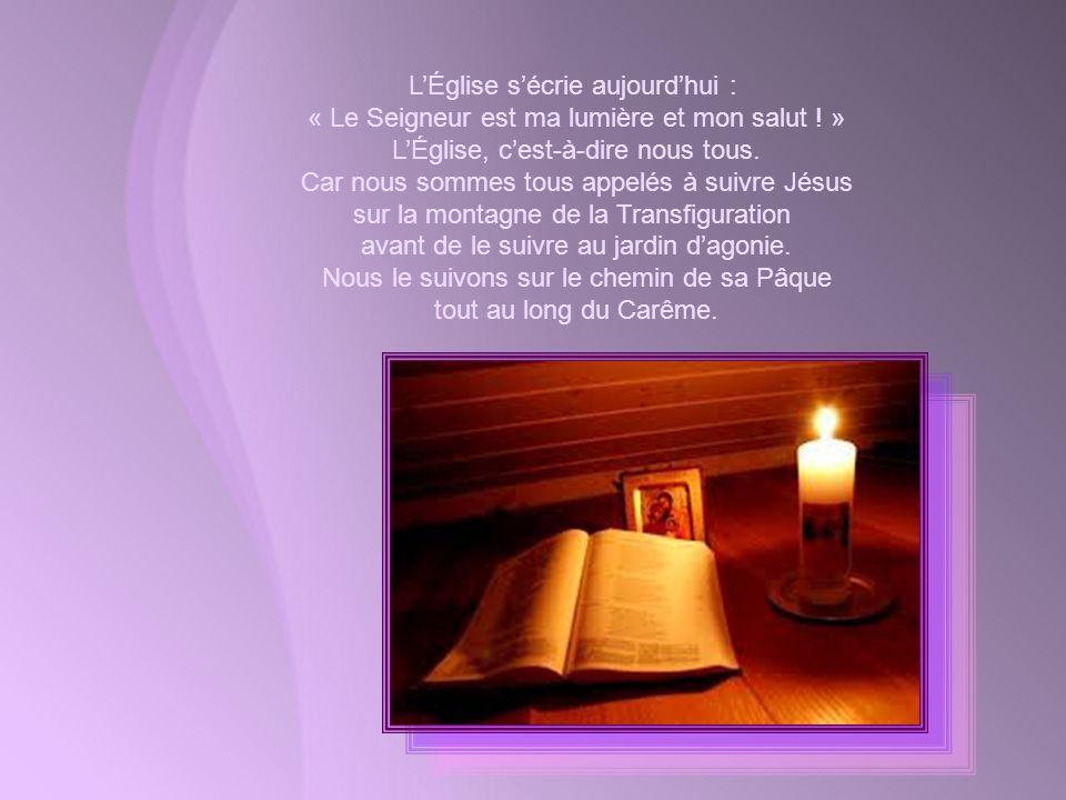 Le Seigneur qui « parlait à Abraham dans une vision » lui promit une descendance. Merveilleuse promesse dun immense bienfait, non pas déjà possédé mai