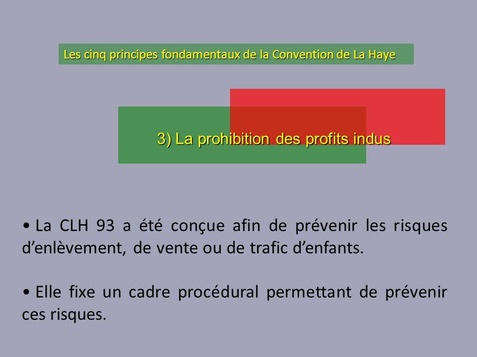 La CLH 93 a été conçue afin de prévenir les risques denlèvement, de vente ou de trafic denfants. Elle fixe un cadre procédural permettant de prévenir