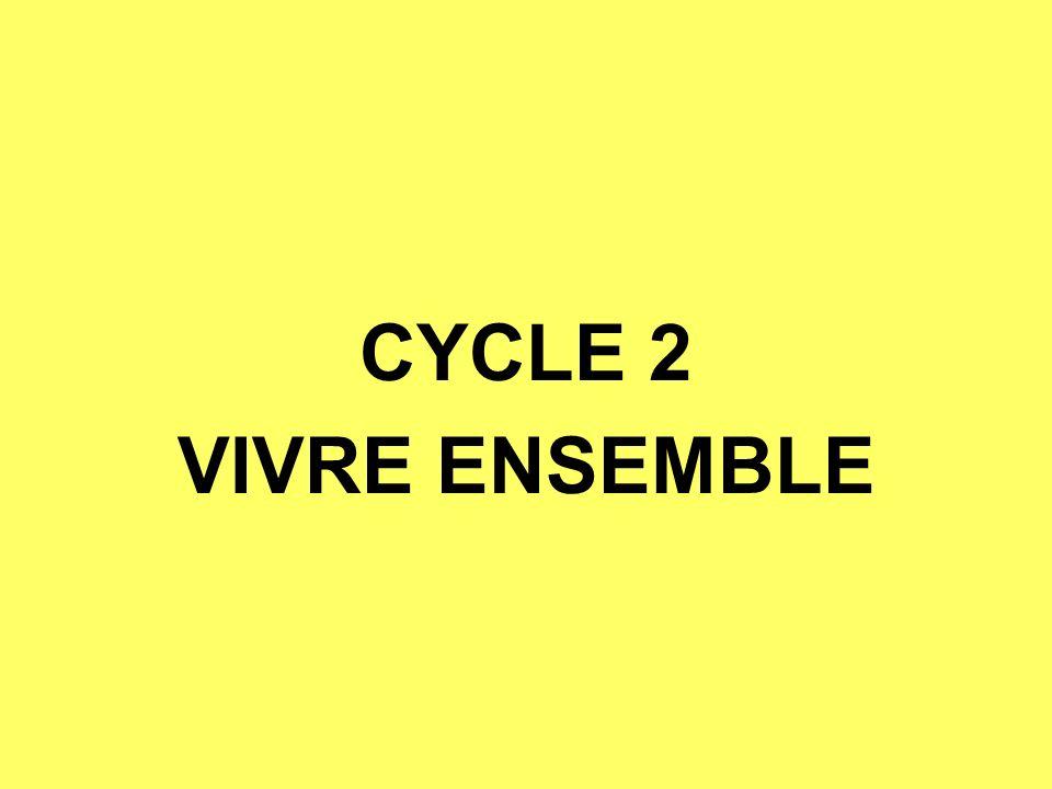 CYCLE 2 VIVRE ENSEMBLE