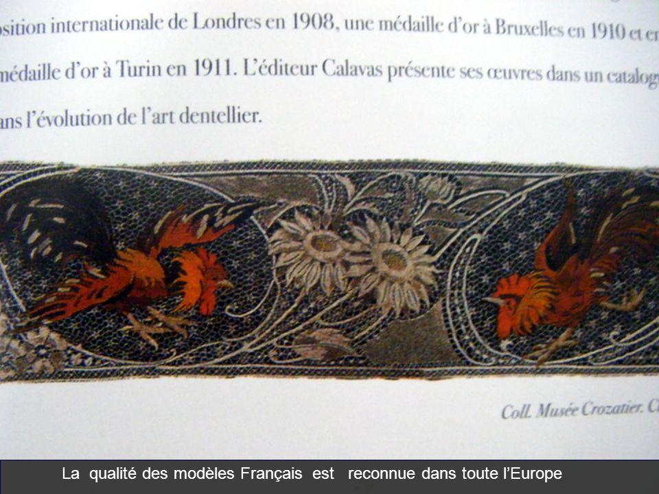 La qualité des modèles Français est reconnue dans toute lEurope