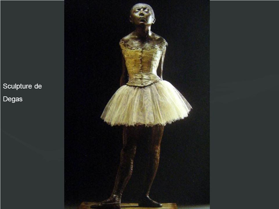 Sculpture de Degas