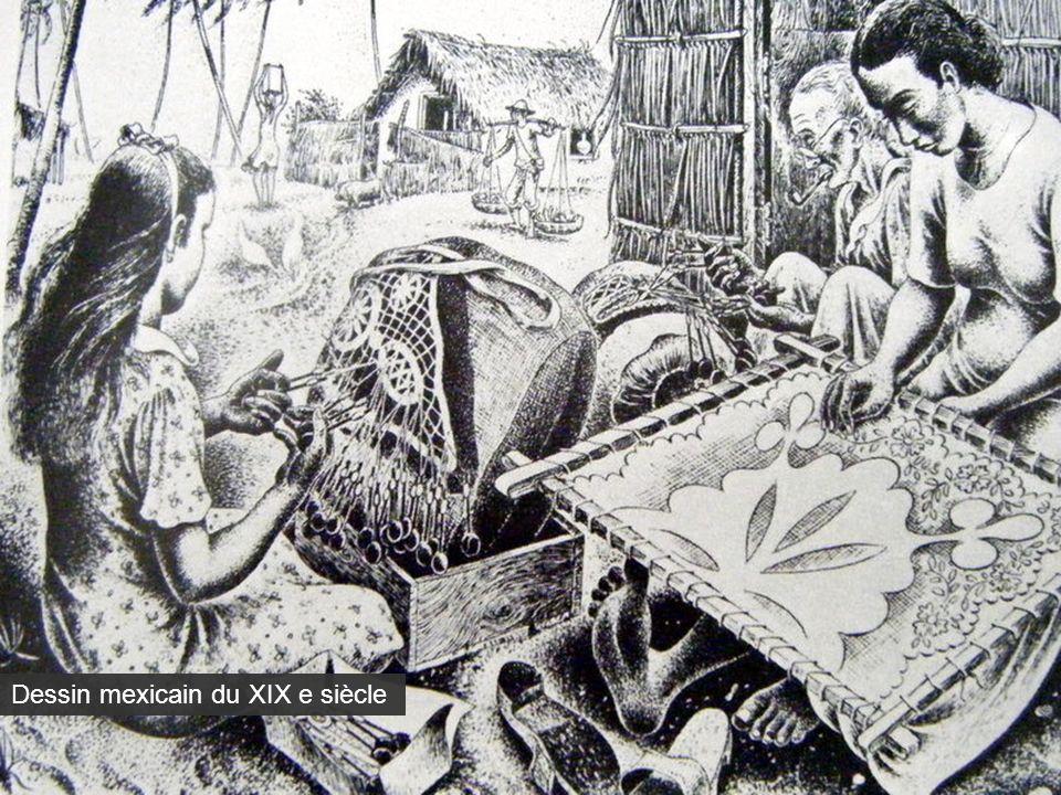 Dessin mexicain du XIX e siècle