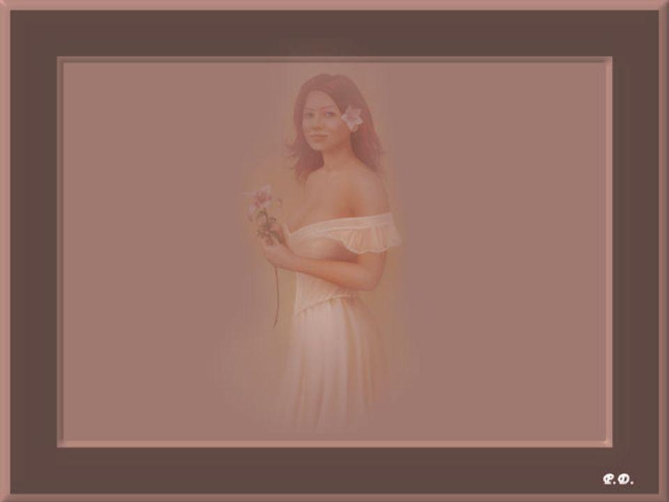 Une femme dans toute sa splendeur avec la beauté de son coeur malgré les années. Mais combien nous méritons d'être aimées pour nous et pour ce que nou