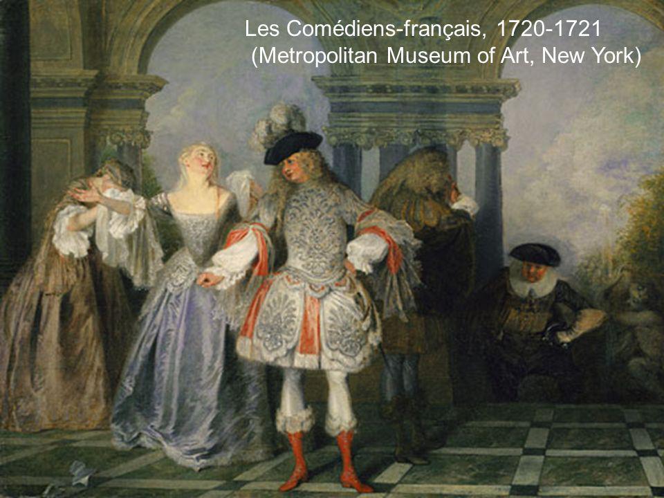 Les Comédiens-français, 1720-1721 (Metropolitan Museum of Art, New York)