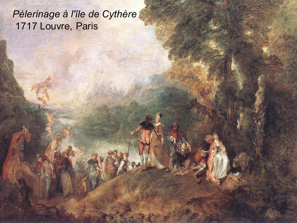 Pèlerinage à l'île de Cythère 1717 Louvre, Paris