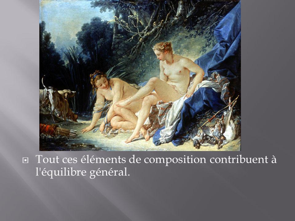 Tout ces éléments de composition contribuent à l'équilibre général.