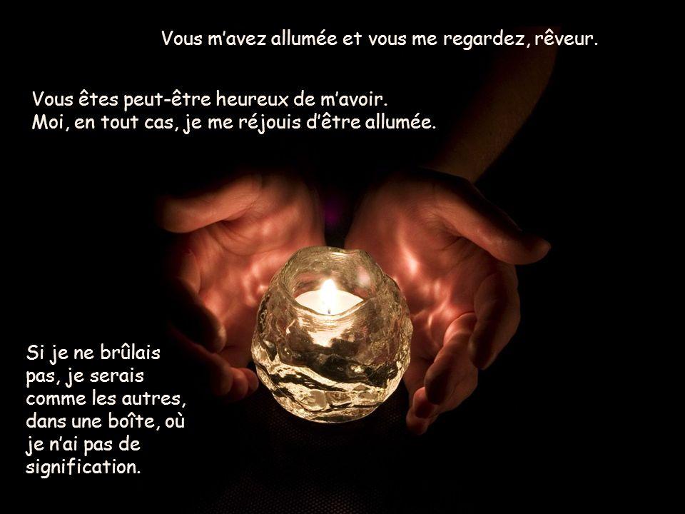 Une bougie vous parle Présenté par le site www.ecoleimamalibe.eb2a.com