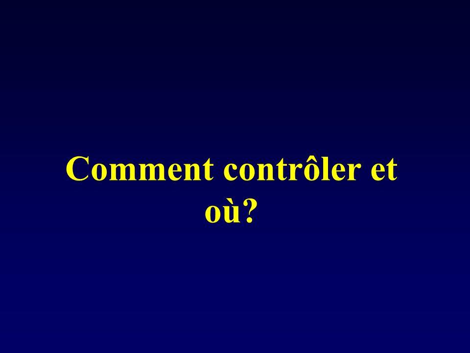 Comment contrôler et où?