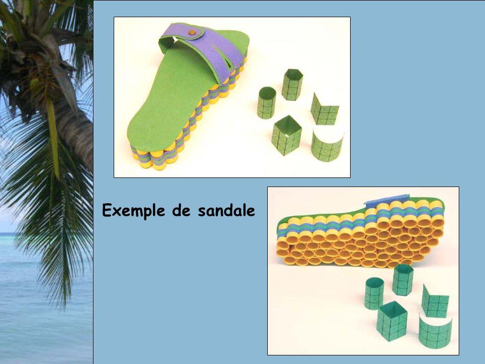 Exemple de sandale
