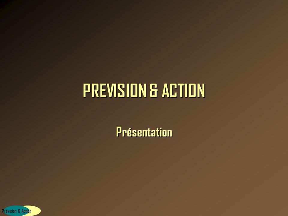 Prévision & Action PREVISION & ACTION Formations EXCEL tous niveaux Enregistré sous le numéro 11940668494 auprès de la préfecture de la Région Île-de-France.