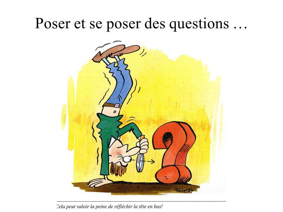 Comment inciter les étudiants à se poser des questions ?
