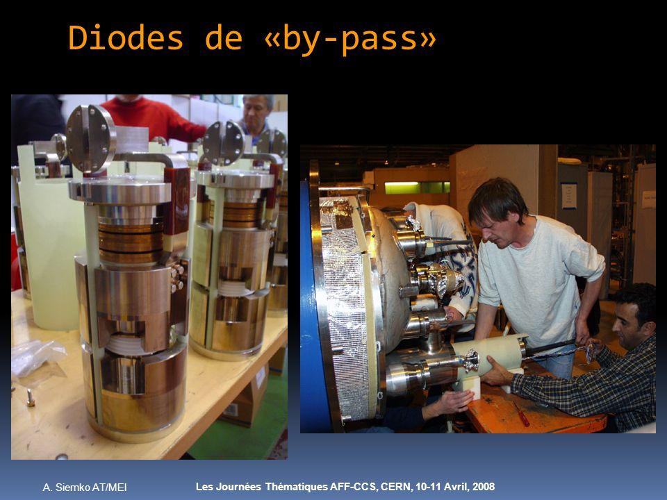 A. Siemko AT/MEI Les Journées Thématiques AFF-CCS, CERN, 10-11 Avril, 2008 Diodes de «by-pass»