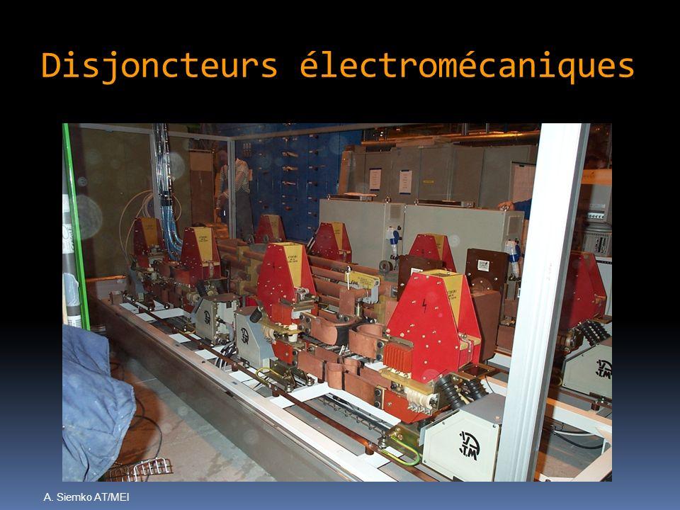A. Siemko AT/MEI Disjoncteurs électromécaniques