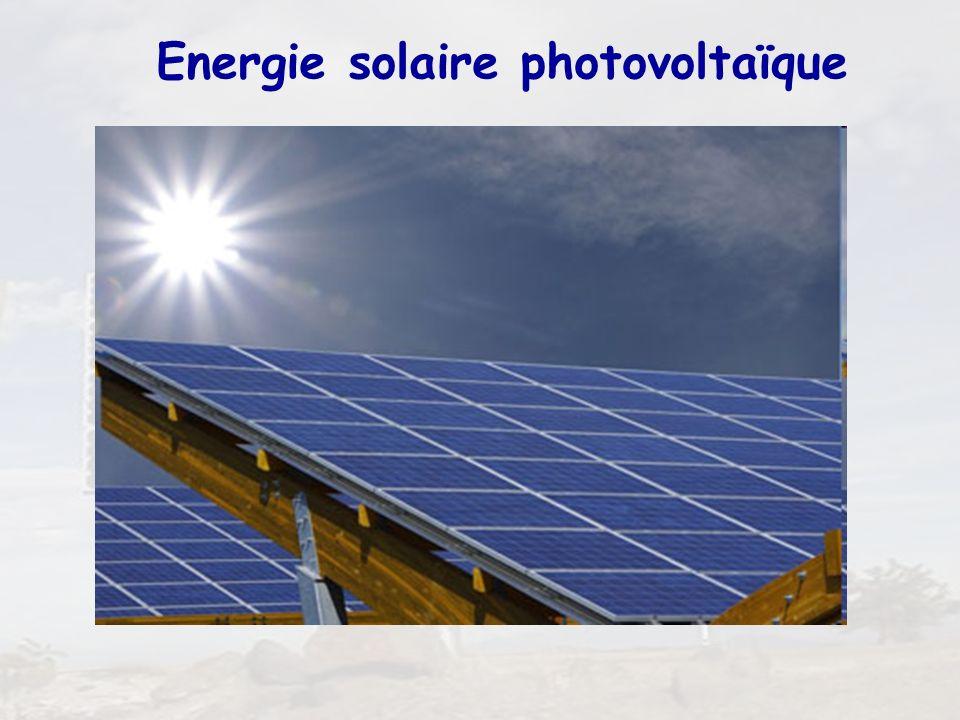 1 Energie solaire photovoltaïque