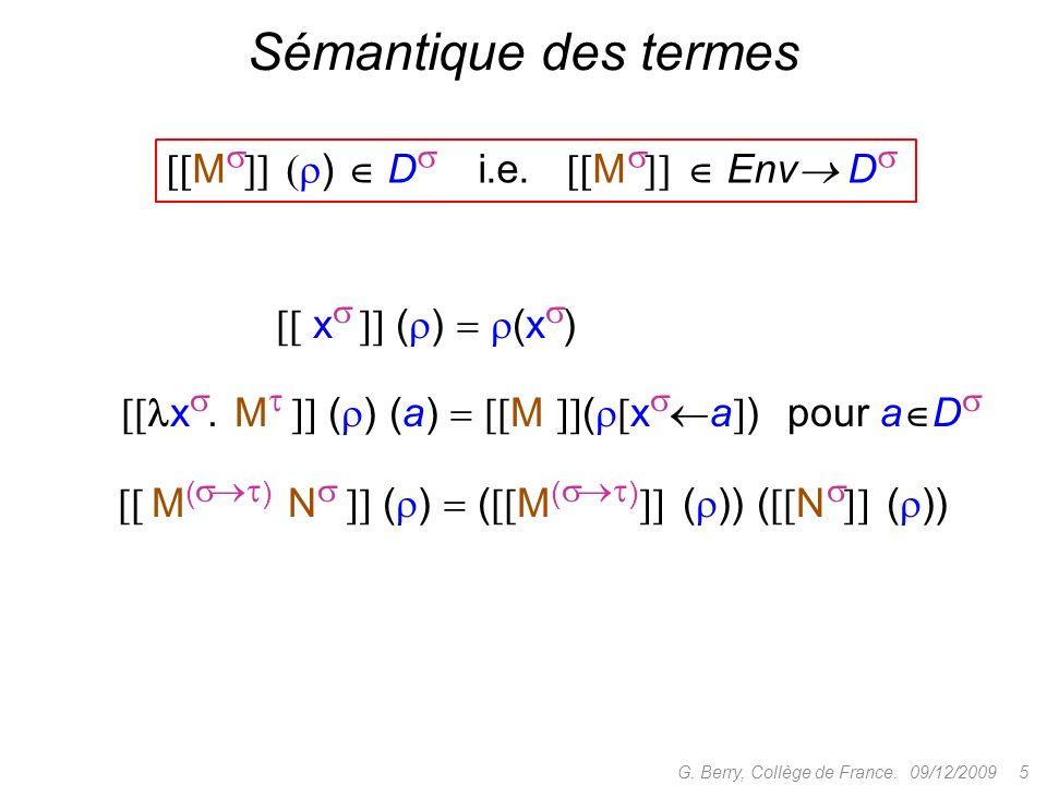 Concret : objets = CDS, morphismes = algorithmes Abstrait : objets = KP-CPOs, morphismes = stratégies 09/12/2009 36G.