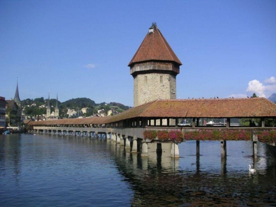 PONT DE LA CHAPELLE Lucerne Suisse