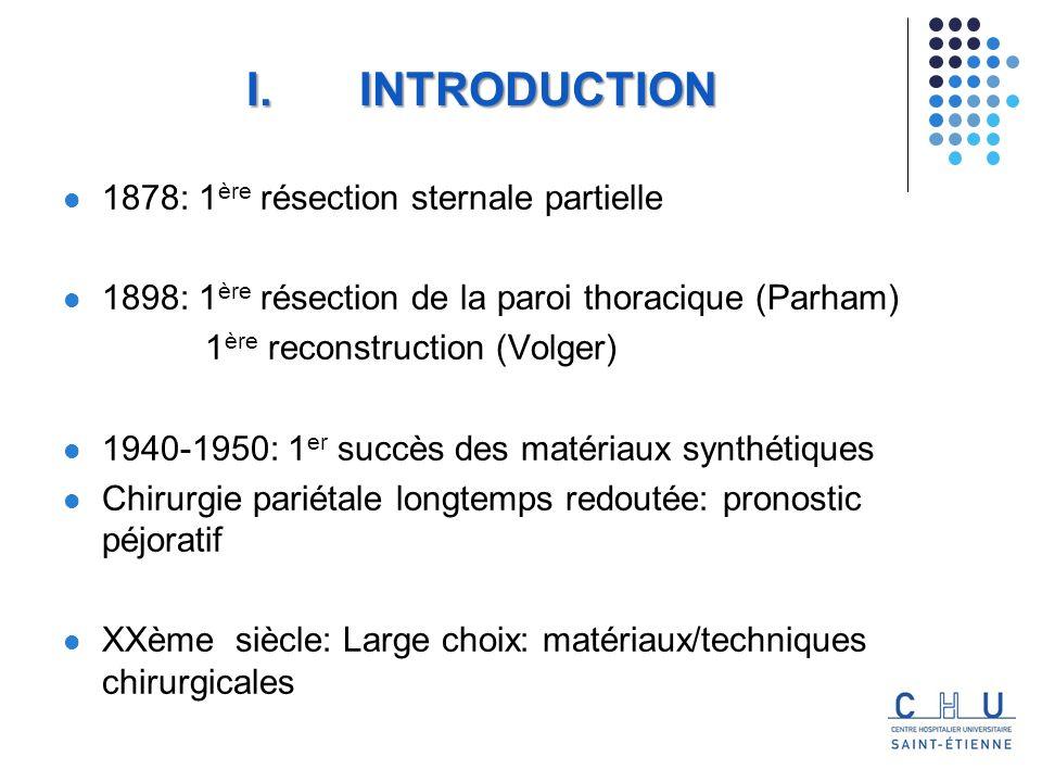 Complications : Risque infectieux du au corps étranger Toxicité du au ciment (importance du recouvrement) Dysfonctionnement du matériel V.