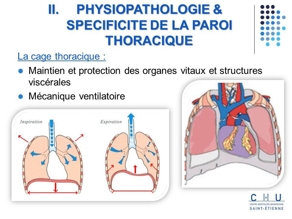 Bi sous-pectorale thoracotomie sternotomie En fonction de la localisation de la tumeur la voie dabord peut être différente : Lincision : IV.