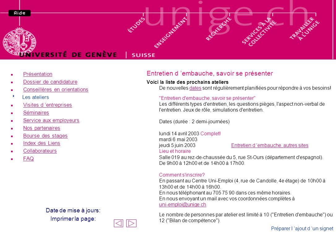n Forum n Sujet 1 Recherche de travail .n Sujet 2 Entretien d emploi .