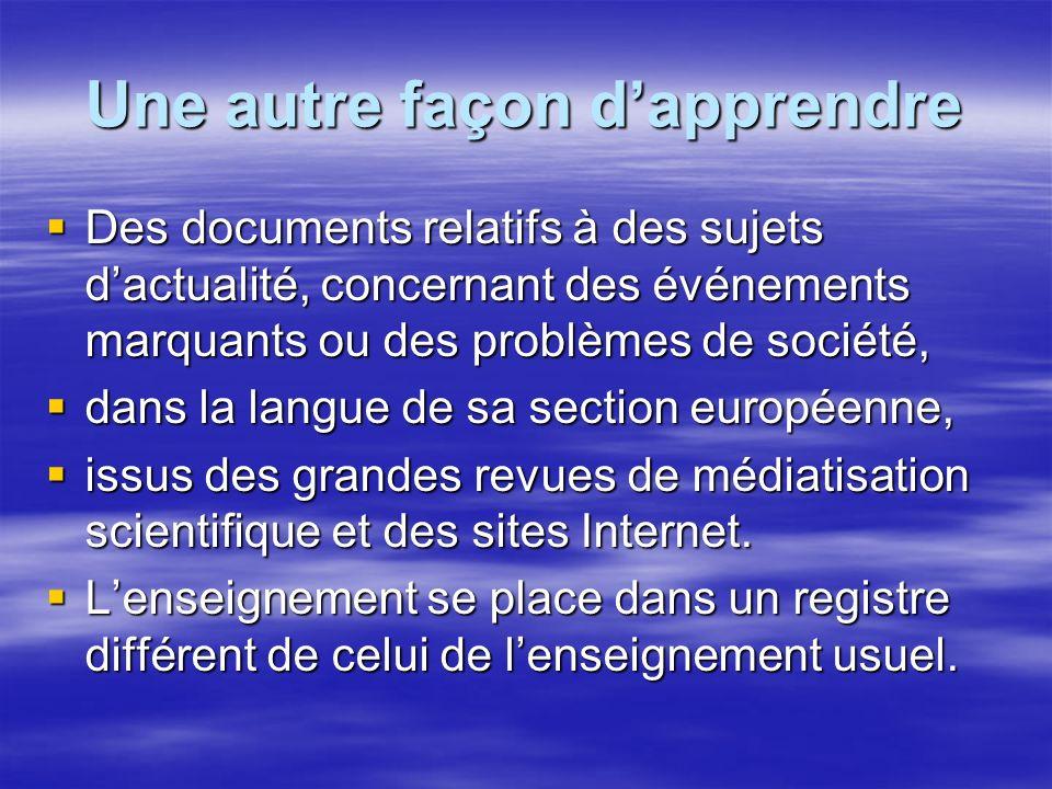 Une approche différente du vocabulaire Une particularité du français : sa richesse en vocabulaire technique usuel, hérité de traditions culturelles et professionnelles, conservé et accumulé au cours du temps.