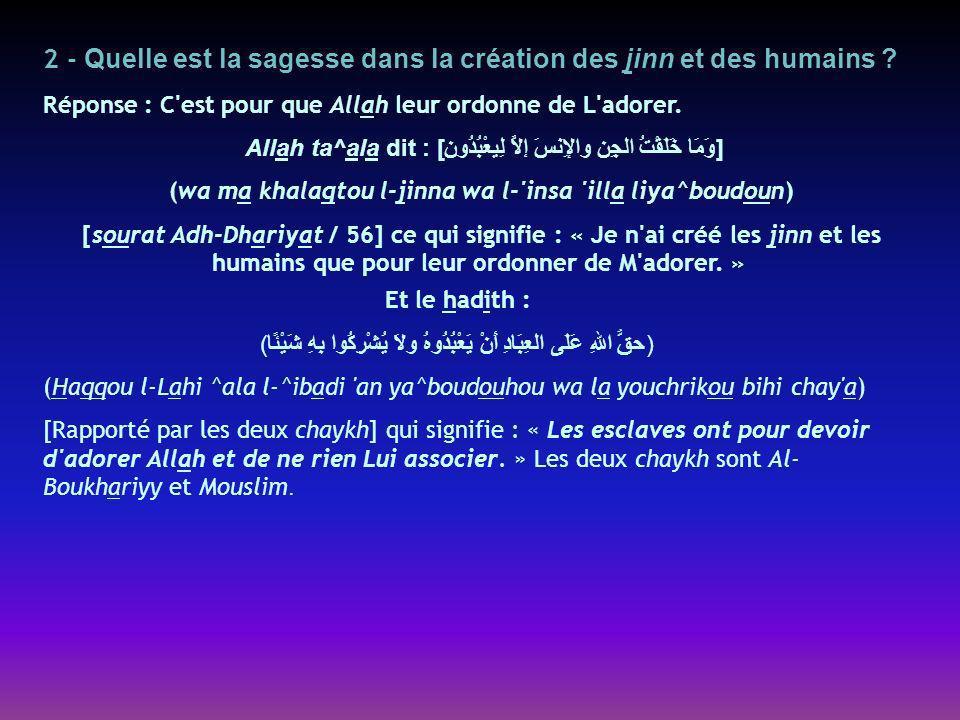 Question 42 : Quelle est la preuve du caractère permis de rendre visite à la tombe du Prophète ^alayhi s-salatou wa s-salam .