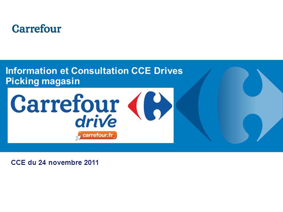 Extérieur magasin, un accès spécifique et identifié P.12 - 19/05/2014 Direction du Développement Drive France