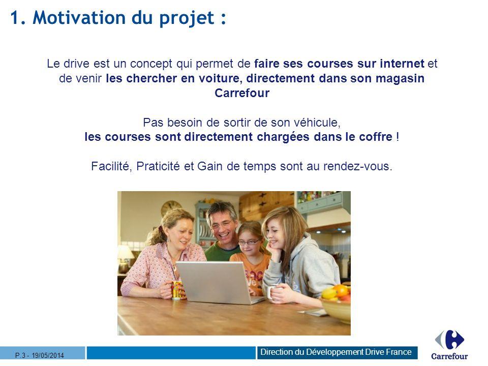 Sappuyer sur le parc de magasins Carrefour « Drive » et proposer la solution Carrefour « Drive » Faire face à la concurrence Développer la part de marché Carrefour Répondre aux nouvelles attentes des clients 4 Pourquoi Carrefour Drive .