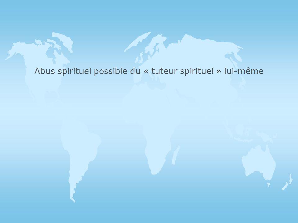 l Depuis toujours, et sous tous les cieux a existé un tutorat spirituel. Le tuteur spirituel a pour « vocation » daider autrui à mieux « respirer ». I
