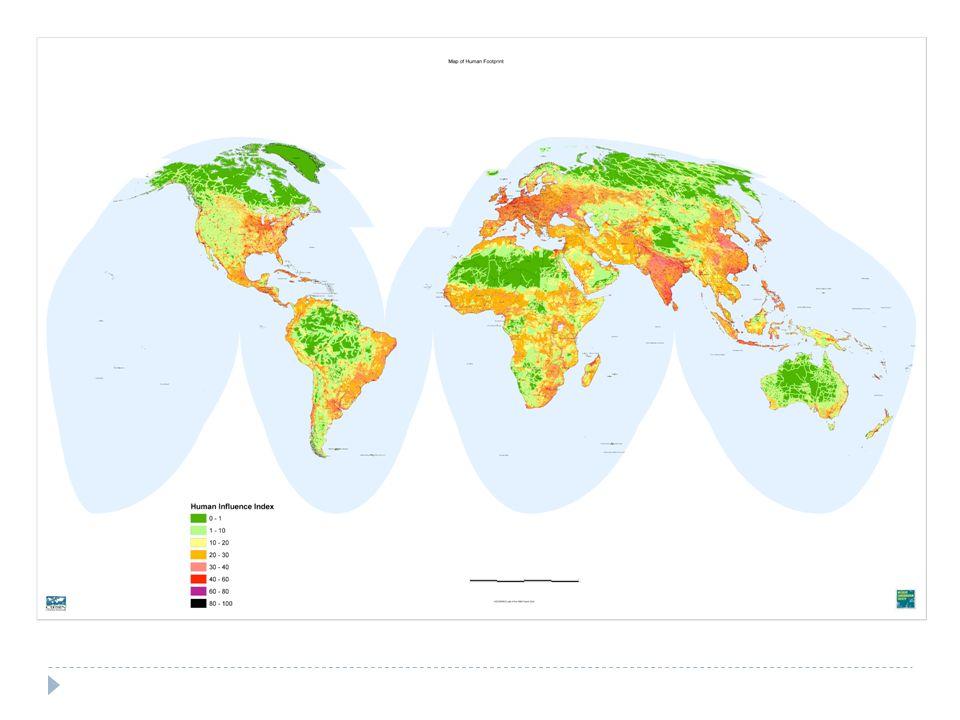 Un problème politique La biodiversité nest pas équitablement répartie à la surface de la Terre.